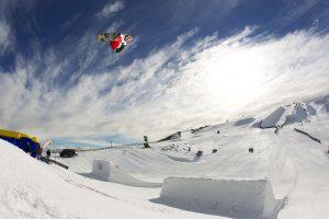 rider:Sebastien Toutant trick: location:Snowpark Nz